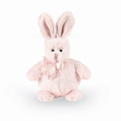 """Bearington Baby Bunny Series:Stout Sprouts """"Cottonball"""" Plush Baby Toy 15cm H"""