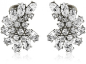 Ben-Amun Jewellery Crystal Cluster Earrings
