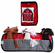 Manual Woodworkers and Weavers Pouch Pals Fabric Toy Giddy Up Stable