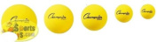 Champion Sports Uncoated Regular Density Foam Balls