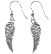 Tiny Angel Wing Earrings-Pair