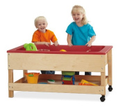 Sand and Water Table with Shelf - Toddler Height