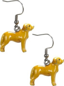 Ganz Faithful Companions Earring - Dog Breed Fashion Earrings - Yellow Labrador Retriever