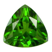 0.10 Cts of 3 mm AA Trillion Chrome Diopside ( 1 pc ) Loose Gemstone