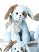 Plush Waggles Blue Dog Lullaby 25cm