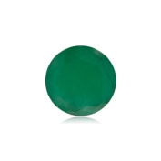 0.85 Cts of 6 mm A Round Natural Emerald ( 1 pc ) Loose Gemstone
