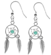 Magical Dream Catcher Earrings-Pair