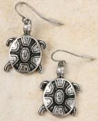 Earrings - Sea Turtle, Pewter