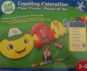 Leapfrog Counting Caterpillar Giant floor puzzle 21 pc [Toy]