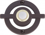 Atlas Homewares DB643-O Avalon Lighted Doorbell Button Aged Bronze
