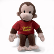 CURIOUS GEORGE large 41cm Plush Monkey Toy NEW Gund