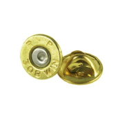 308 Winchester Brass Bullet Tie Tac-Hat Pin