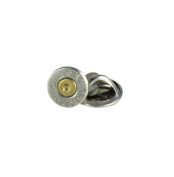 Winchester 9mm Luger Nickel Bullet Tie Tac-Hat Pin