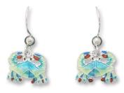 Little Crab Sterling Silver & Enamel Earrings