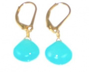 Bright Chalcedony Earrings
