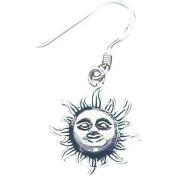Sterling Silver Sun Shepherd Hook Earrings Jewellery