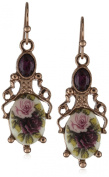 1928 Jewellery Manor House Filigree Drop Earrings