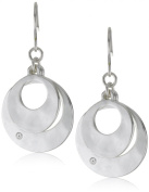 Kenneth Cole New York Silver-Tone Layered Earrings