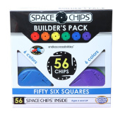 Monkey Business Sports Space Chips Builder Pack - Square
