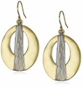 Kenneth Cole New York Gold-Tone Orbital Earrings