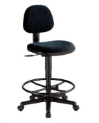 Comfort Economy Drafting Chair Black