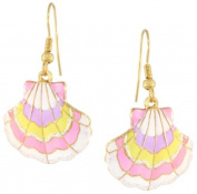 Lunch at The Ritz 2GO USA Scallop Earrings