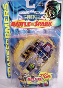 """Transformers Beast Machines """"Battle for the Spark"""" Deluxe Strika Assault Vehicle Evil Vehicon"""