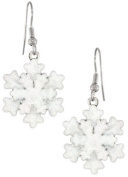 Lunch at The Ritz 2GO USA Lake Effect Earrings Winter