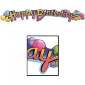 Happy Birthday Streamer Party Accessory (1 count)