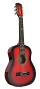 80cm Inch 1/2 Half Size Kids Acoustic Toy Guitar - Red. DirectlyCheap