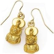 Egyptian Sakhmet Earrings