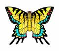 WindnSun Swallowtail Butterfly Nylon Kite-80cm Wide