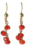 Dark Carnelian - Honey Earring