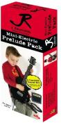 J Reynolds JRPKLPBK Mini Electric Guitar Pack