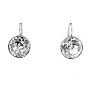 . Bella Clear Crystal Pierced Earrings 883551