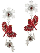 Lunch at The Ritz 2GO USA Snow Bird Earrings