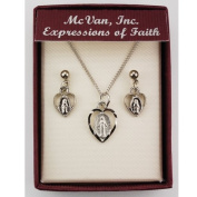 Rf Mirac Heart Pendant And