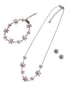 Jessica Pink Jewellery Set