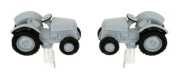 Vintage style tractor cufflinks with presentation box