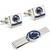 Penn State University Nittany Lions Cufflinks and Tie Bar Gift Set