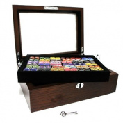 72 Pair Cufflink Collector's Case