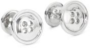 "ROTENIER ""Novelty"" Sterling Silver Buttons Cufflinks"