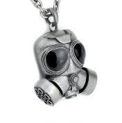 Gas Mask Necklace Cyber Industrial Bio Hazard Pendant
