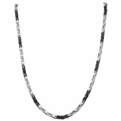 Very Cool Stainless Steel And Black PVD Box Link Chain