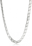 Men's Stainless Steel Mariner Link Necklace, 55.9cm