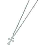 Stainless Steel Cross Mens Necklace Jewellery 55.9cm New