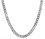 925 Sterling Silver Men curb Chain - 61cm , 23 Grammes