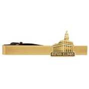 LDS Nauvoo Illinois Temple Gold Steel Tie Bar - Tie Clip - Priesthood Gift, LDS Missionary, Tie Clip