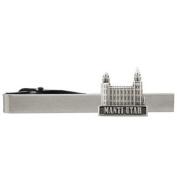 LDS Manti Utah Temple Silver Steel Tie Bar - Tie Clip - Priesthood Gift, LDS Missionary, Tie Clip