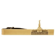 LDS Sacramento California Temple Gold Steel Tie Bar - Tie Clip - Priesthood Gift, LDS Missionary, Tie Clip